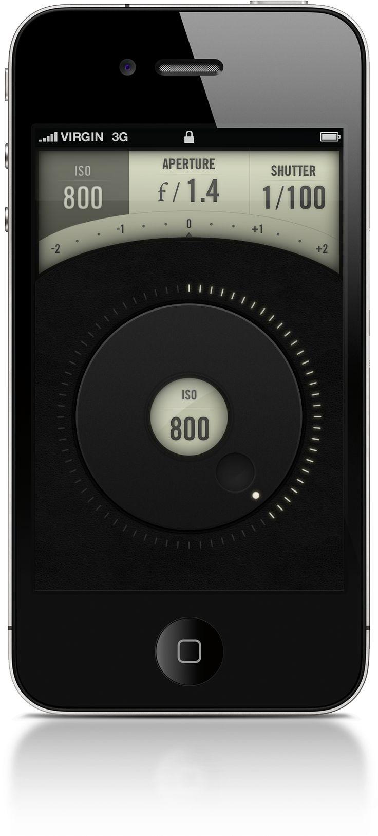 Canon iPhone app | Designer: Jeremey Fleischer