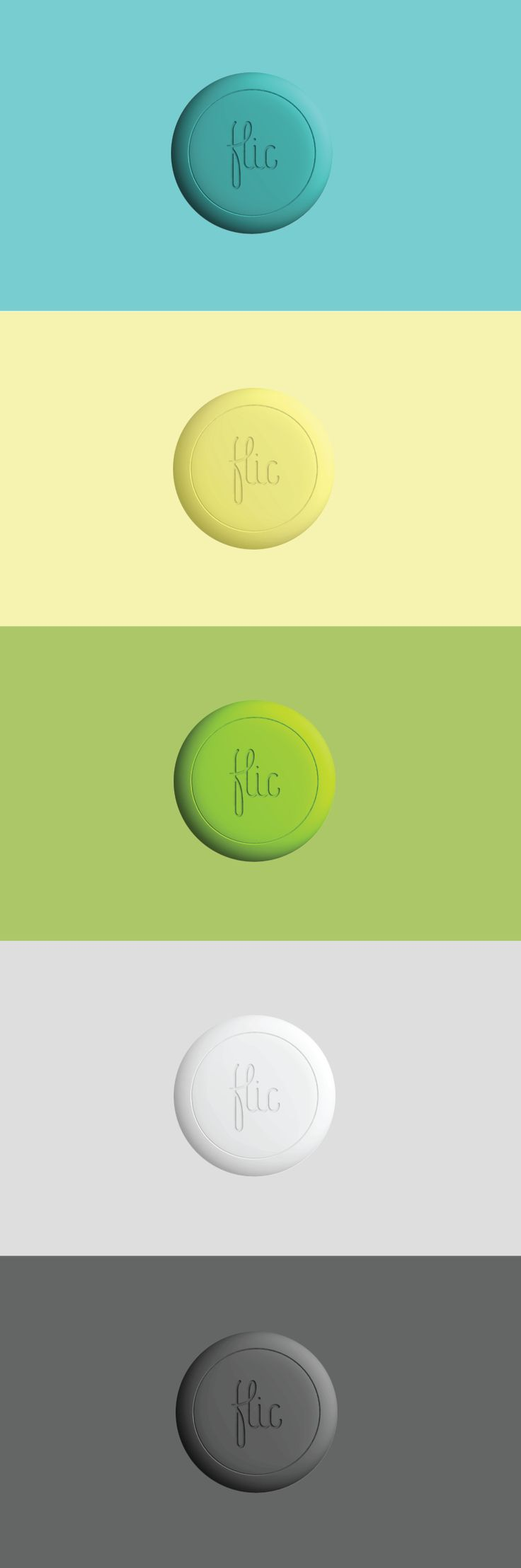 The colors of Flic. https://flic.io