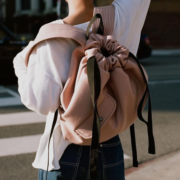 AW16 introduces a slouchy shaped drawstring backpack featuring a moto inspired…