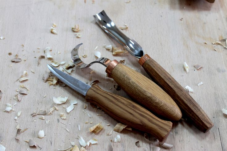 Spoon carving set of 3 tools wood spoon carving tools woodcarving tools spoon gouge carving tools hook knife spoon knives carving tools by WoodCarvingTools on Etsy