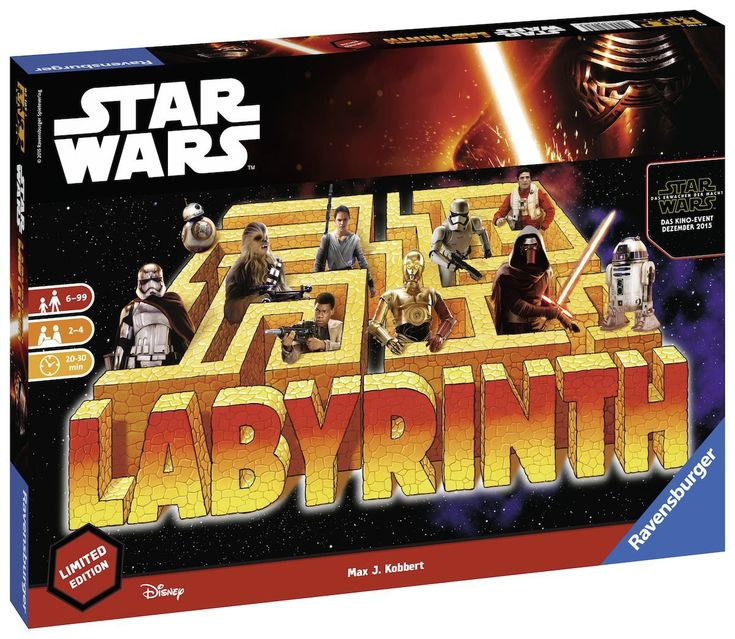 Ravensburger 821853 Star Wars Labyrinth Limited | real