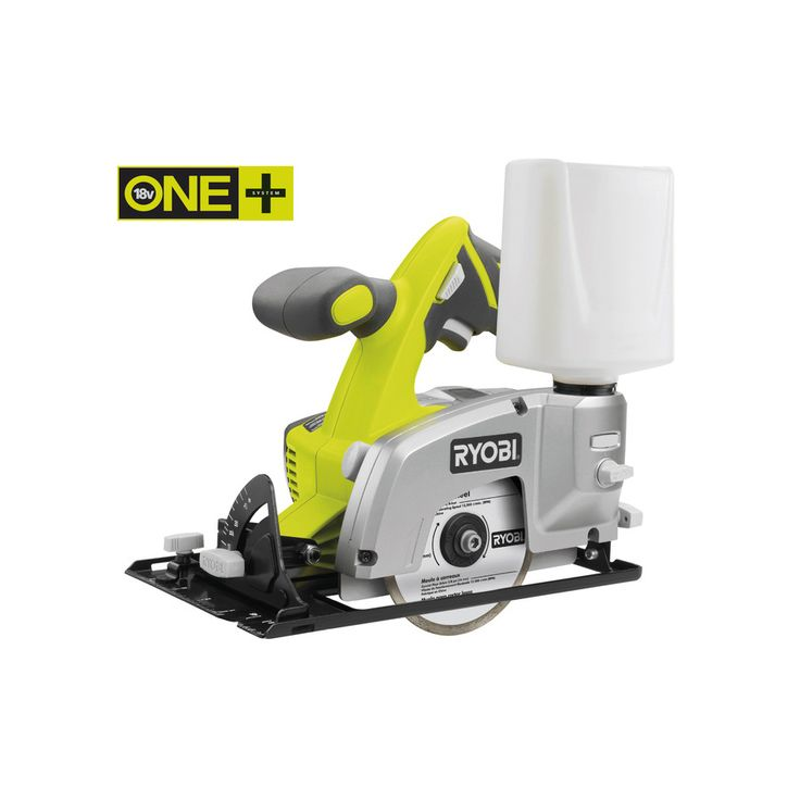 A Tile Saw that cuts through 4 different surfaces: ceramic, granite, marble and masonry! 18V Cordless Tile Saw | Power Tools | Ryobi Tools