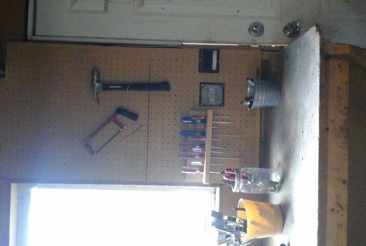Garage Tools Organization