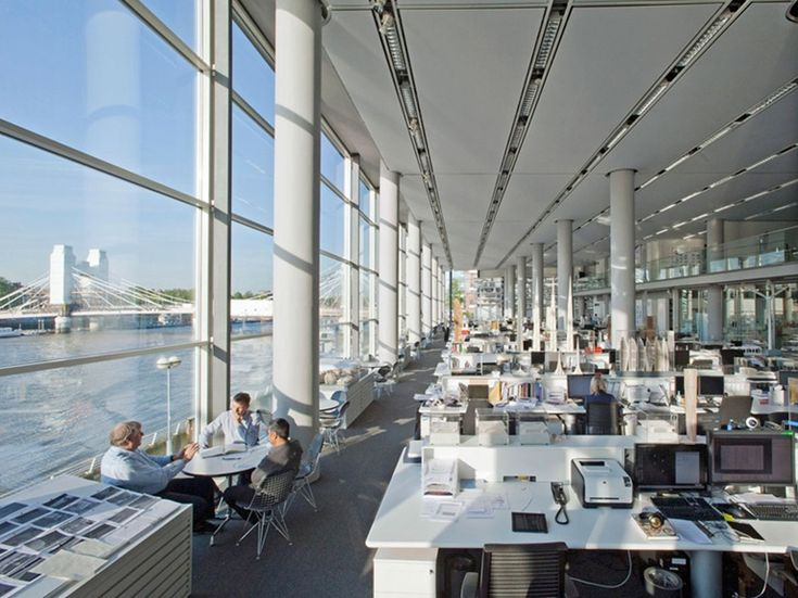 norman foster office. Office Tour: Inside Foster + Partners Headquarters   Norman Foster, Spaces And Architects A