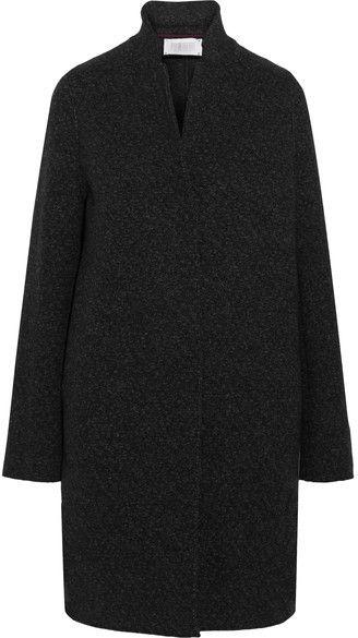 Harris Wharf London - Boiled Wool-felt Coat - Charcoal