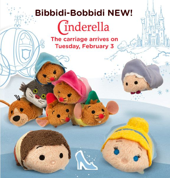 Tsum Tsum Tuesdays, A New Collection Each Month!