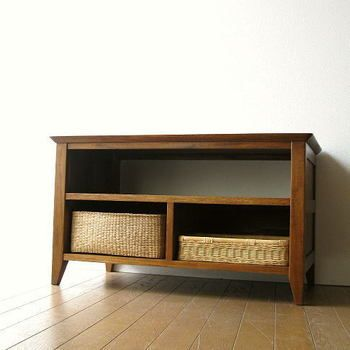 Rakuten: TV stand TV board AV rack AV storing wooden TV stands space tree modern finished product liquid crystal television stand compact TV rack TV rack TV board AV board innocence materials horse mackerel Ann furniture Bali furniture free shipping high quality good quality TV storing CD audio rack teak low board 80B-saving- Shopping Japanese products from Japan