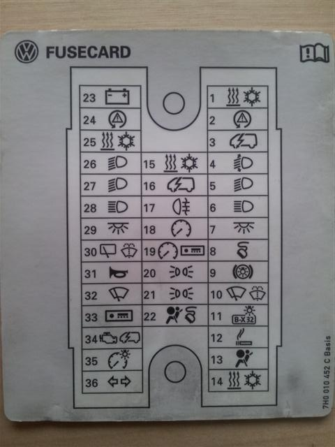 fuse box diagram   - page 4 - vw t4 forum