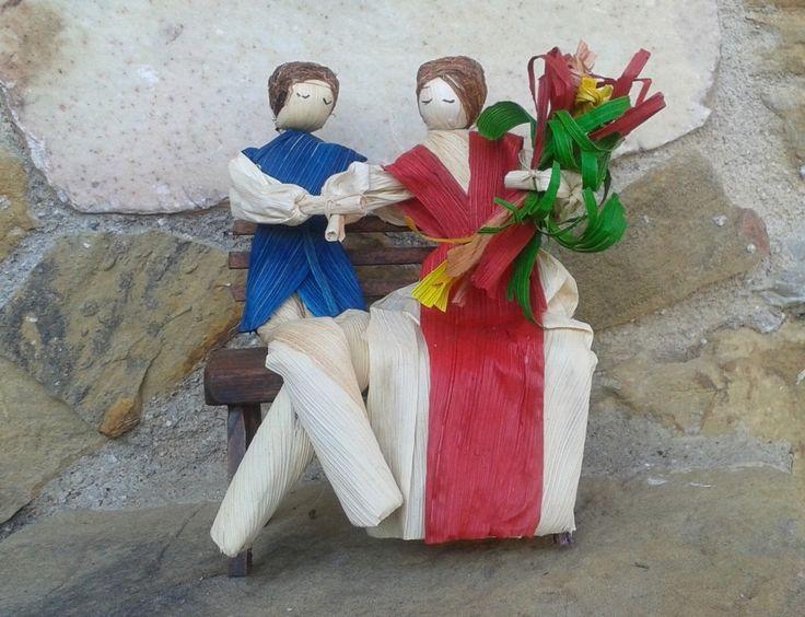 Coppia di fidanzati in cartoccio