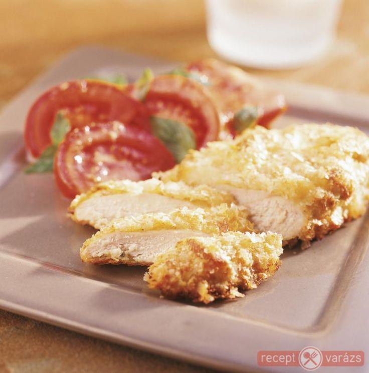 Sütőben sült rántott csirkemell sajtos-burgonyás bundában recept Készítsd el akár 2, vagy 12 főre, a Receptvarazs.hu ebben is segít!