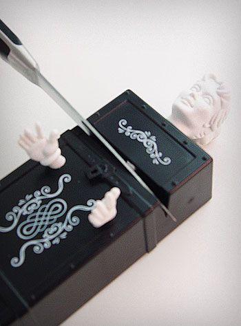 Kitchen Magician Knife Sharpener #kitchen #decor #curio #cool