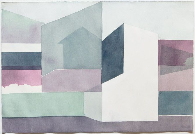 Julia Mota  Watercolor on paper