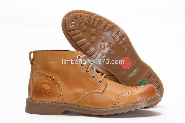 2017 New Timberland Men's Earthkeepers Lace-Up Brogue Chukka Boot Wheat $ 85.00