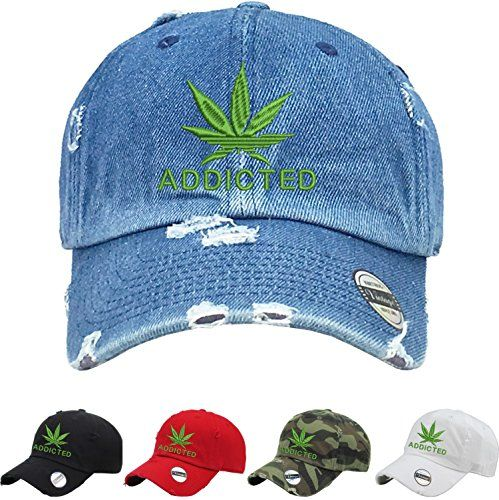 170f77cc385 Allntrends Adult Hat Addicted Cool Vintage Dad Hat Embroidered ...