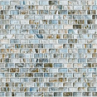 Would love this for my kitchen back splash or maybe our master bathroom. -> Shaw Floors Glass Expressions Micro Blocks Accent Tile in Seaglass. We have installed this glass tile in a condominium in Destin, Florida. The shades of blue matched the beautiful Gulf of Mexico and our sugar white beaches that can be seen from the ceiling to floor windows.