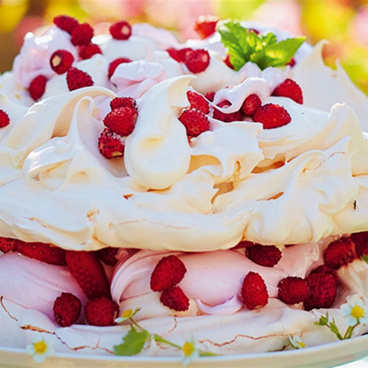 Try this Dreamy Marshmallow Pavlova recipe by Chef Jamie Oliver. This recipe is from the show Jamie's Comfort Food.
