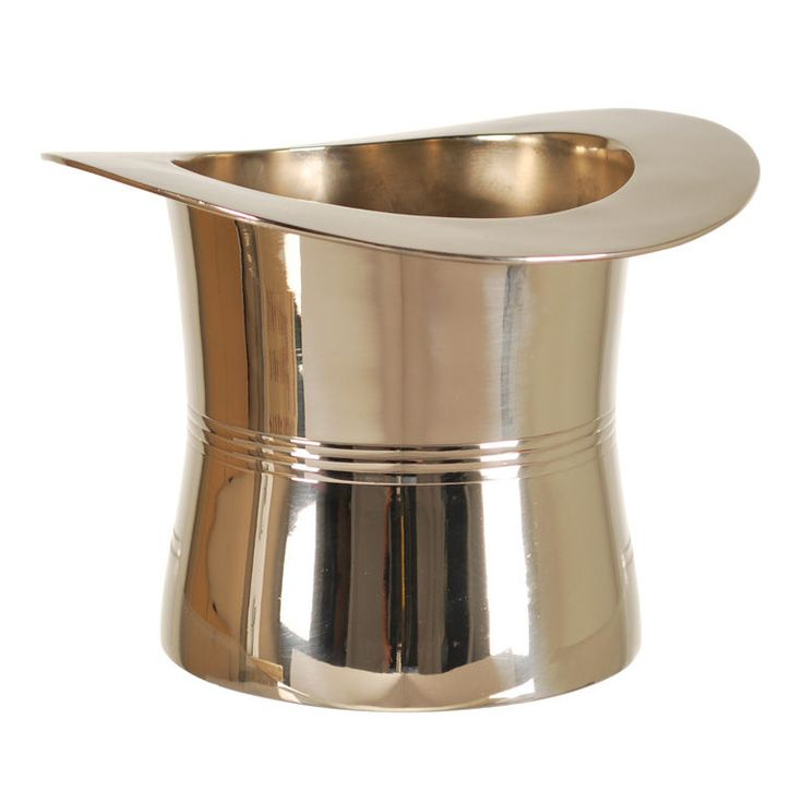 Art Deco Top Hat Champagne And Wine Cooler Photo Gallery