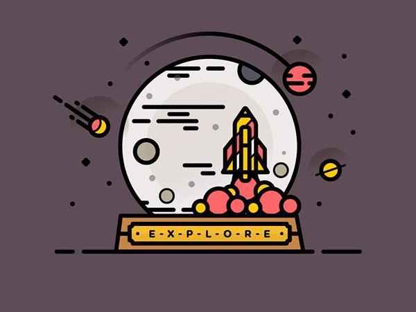 E-X-P-L-O-R-E // Branding on Behance