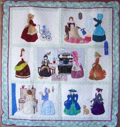 1000 Images About Helen Scott Bonnet Girl Quilts On