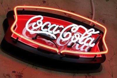 neon coca cola sign i love coca cola pinterest. Black Bedroom Furniture Sets. Home Design Ideas