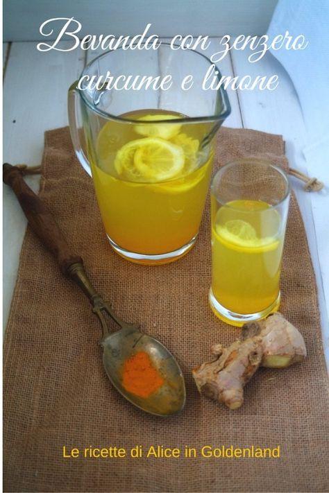 Una fresca bevanda detox con zenzero, limone e curcuma! Tanti benefici e una carica di vitamine! Clicca per leggere subito, o pinnalo per leggere più tardi.