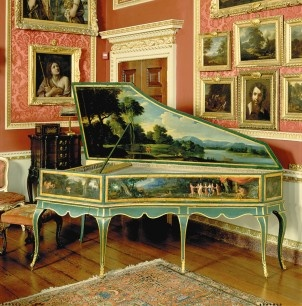 The Harpsichord...born in the Middle Ages, it was the instrument that composers such as Bach and Mozart wrote music for. I am drawn to the haunting sound produced by this beautiful instrument. Although it was mostly replaced by the piano in the 18th century, it will never be forgotten.