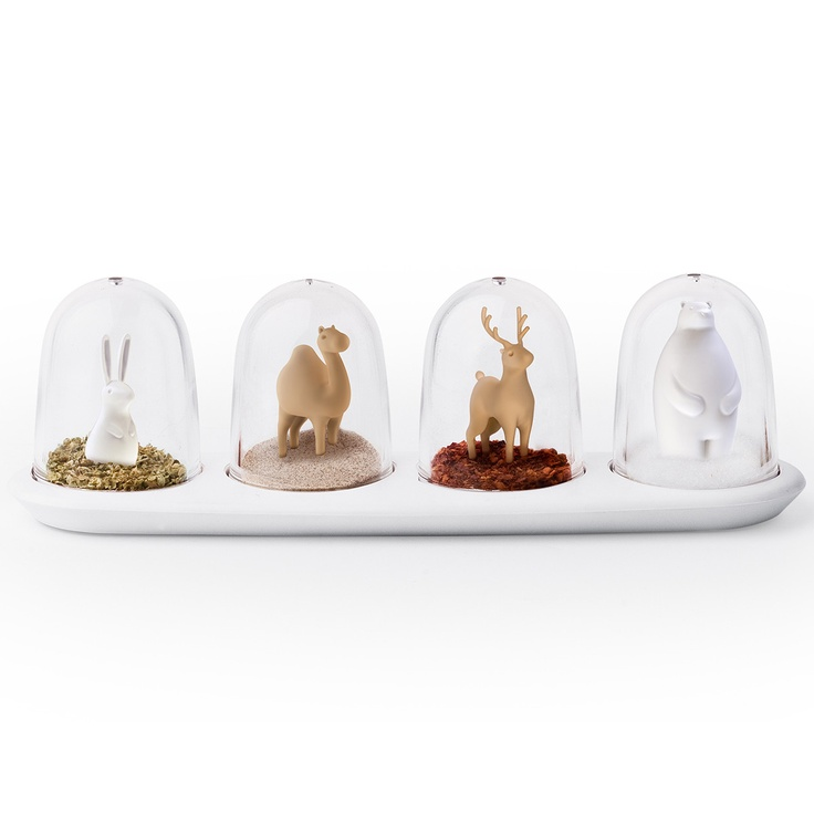 Animal Parade Spice Shakers   Qualy