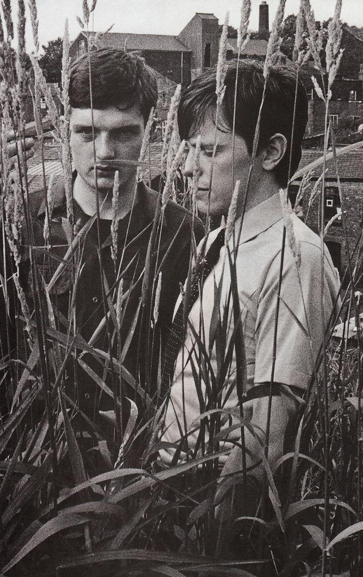 Ian Curtis and Bernard Sumner.