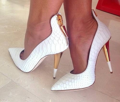 I'm not big on white shoes but these are cute.