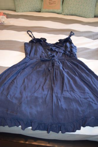 Abercrombie and Fitch Navy Spring Dress | eBay