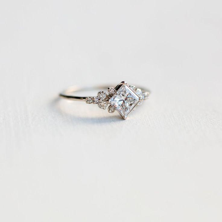 Stargaze Ring, .7ct. Diamond