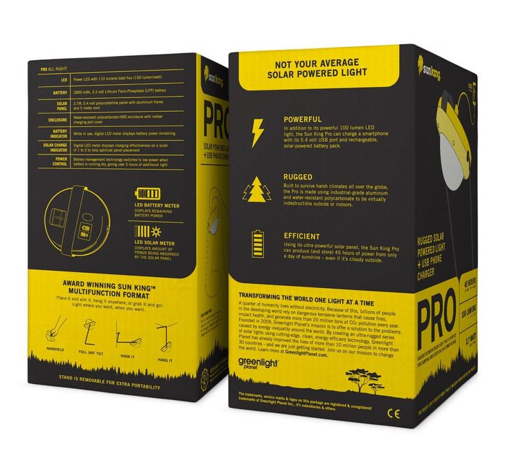 Greenlight Packaging: Sun King — The Dieline - Branding & Packaging Design