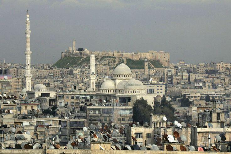 az iszlám állam rombolásai, elpusztított műemlékek, Szíria, Aleppo
