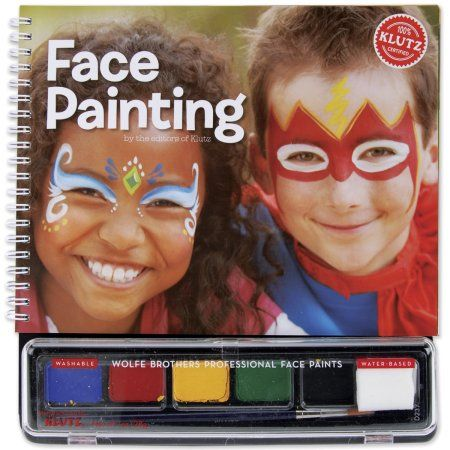 Klutz Face Painting Kit, Multicolor