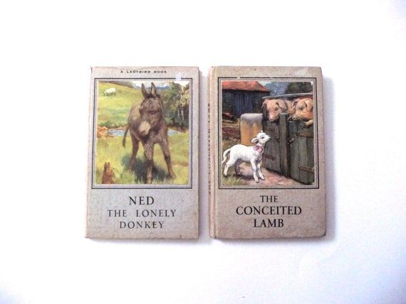 Vintage Ladybird Books by TickleAndFinch on Etsy