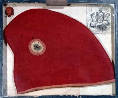 Un bonnet phrygien dont la localisation est inconnue