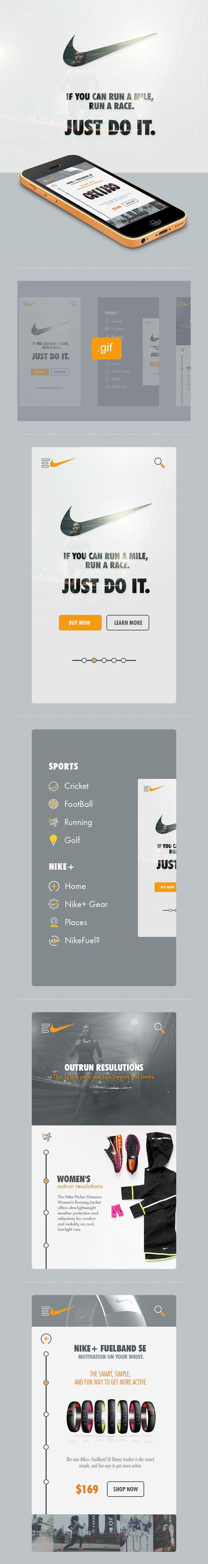 Nike - if you can run a mile, run a race!