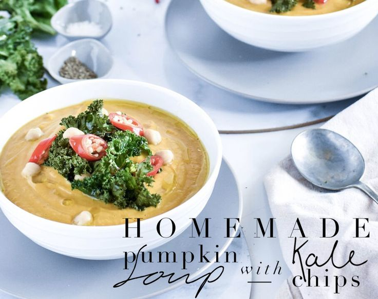Keep warm this August with our home made pumpkin soup, with a protein boost from the chickpeas and a delicious crunch of kale chips. Brining you this delivcious recipe is our girl @shelleysgoodeats…  #muraboutique #blog #soup #pumpkin #pumpkinsoup #diy #create #yum #winter #comfortfood