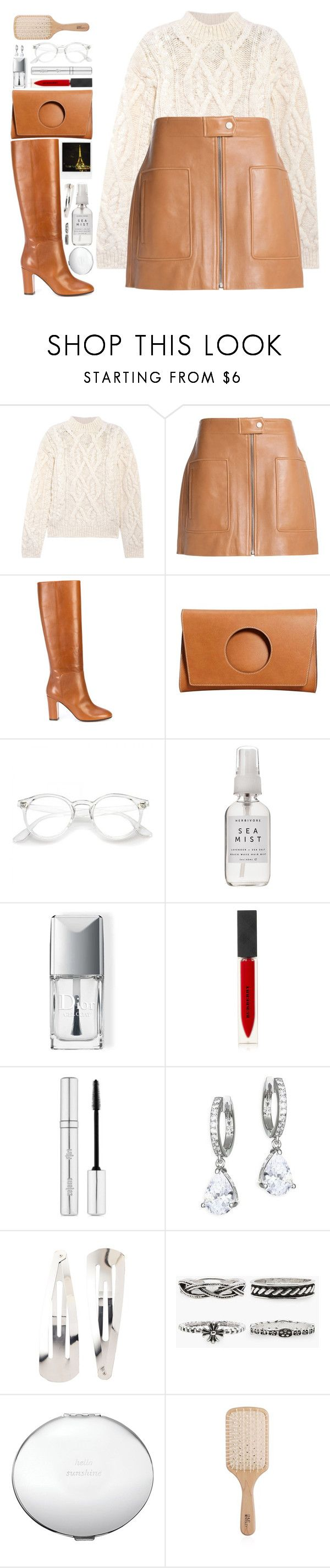"""#1221 Iris"" by blueberrylexie ❤ liked on Polyvore featuring Acne Studios, Helmut Lang, Aquazzura, MANGO, Herbivore, Christian Dior, Polaroid, Burberry, Zelens and Kate Spade"