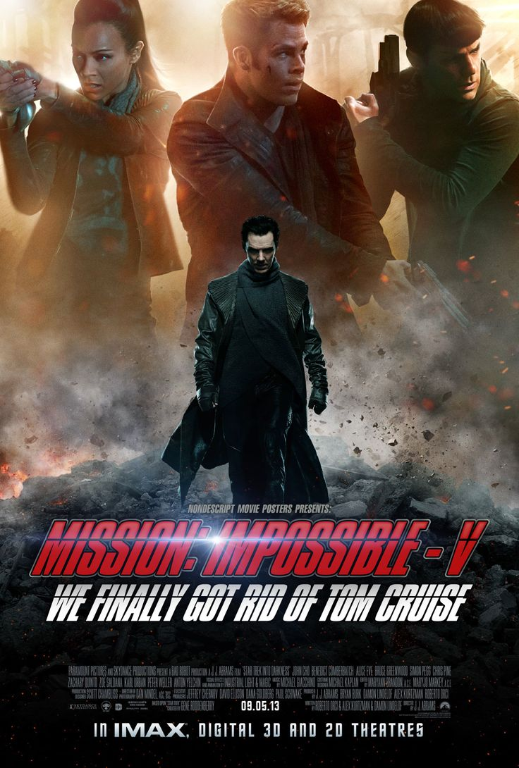 Mission impossible, Mission impossible 5 and Movie posters on ...