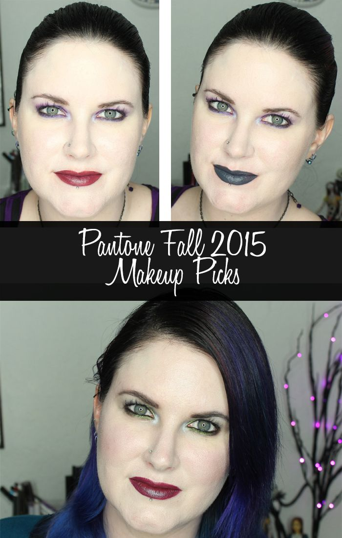 Phyrra shares the Pantone Fall 2015 Colors and her makeup picks for each shade! Find a new favorite!