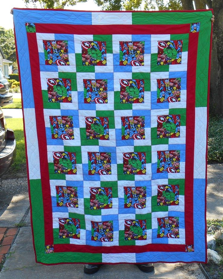 27 best Superheroes quilts images on Pinterest | Projects, Craft ... : superhero quilts - Adamdwight.com