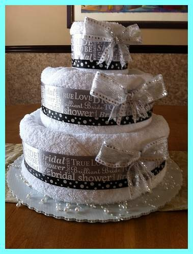 Wedding Shower Towel Cakes