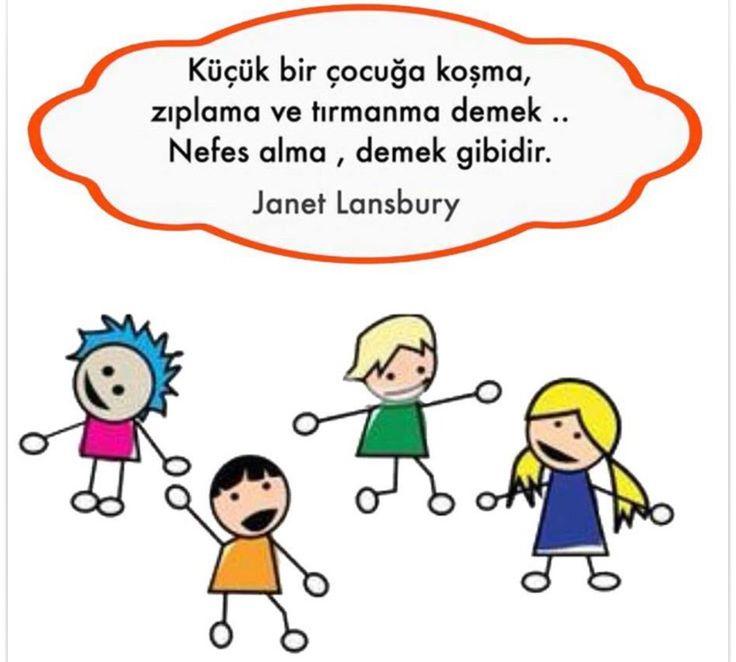 ✔Kiçik bir uşağa qoşma, tullanma və dırmaşma demək .. Nəfəs alma, demək kimidir. #Janet_Lansbury