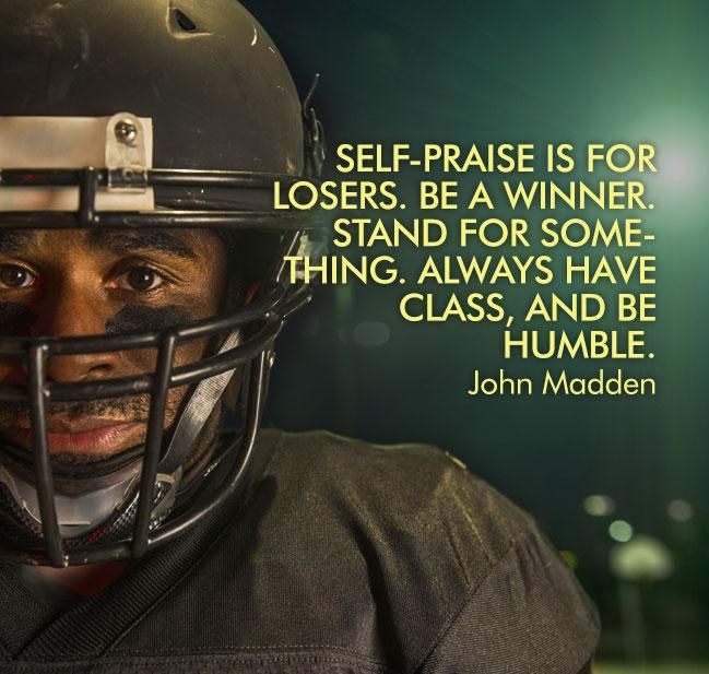 Inspiring John Madden football quote -- are you ready for some football?? {Click thru for more inspiring football #quotes}