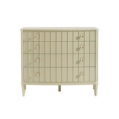 Crestaire Monterey 4 Drawer Dresser Color: Off-White - http://delanico.com/dressers/crestaire-monterey-4-drawer-dresser-color-offwhite-641173133/