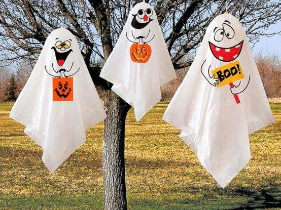 Decorar el jardín en Halloween 2