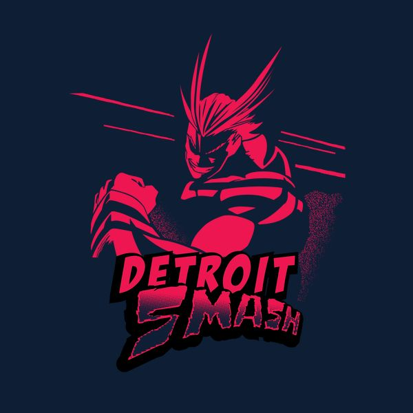 All Might Detroit Smash Red Neatoshop Hero Academia Characters Hero My Hero Academia Memes