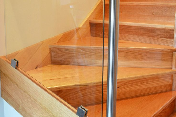 Glass Balustrade Stairs in Melbourne - Gowling Stairs