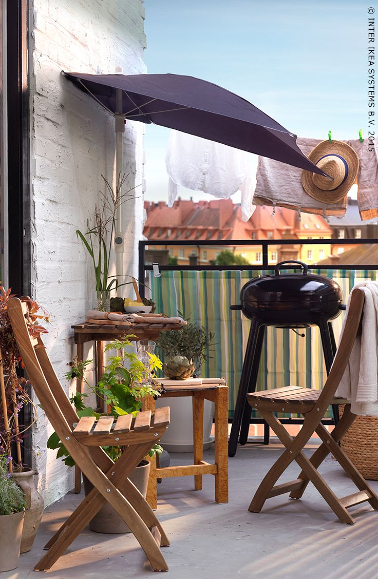 Table barbecue au charbon lill n ikea terrasse t l 39 t pinterest ikea terrasse - Table terrasse ikea ...